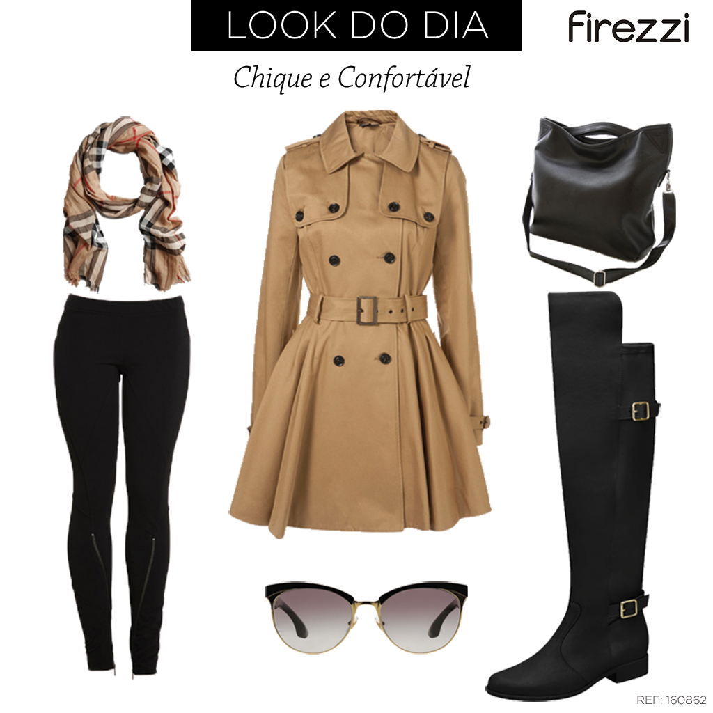 Arrase no look do dia com Firezzi e o seu trench coat