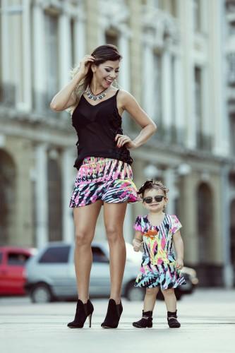 Tal mãe, tal filha - Um arraso de look!