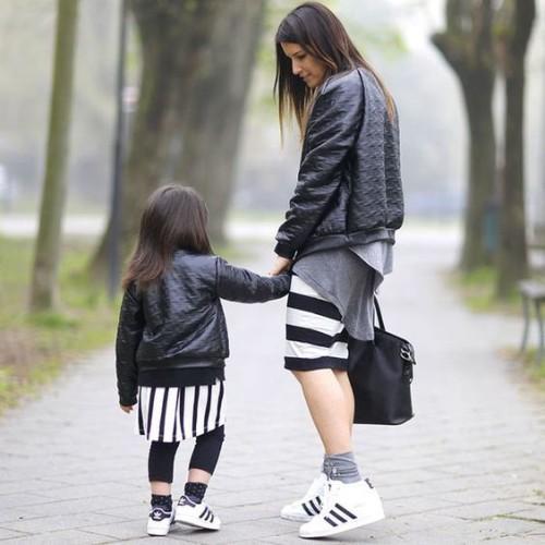 Tal mãe, tal filha - Listras estão super em alta!