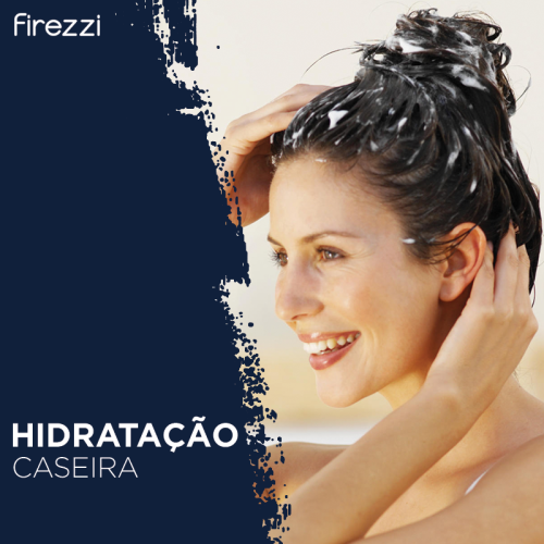 Hidratação caseira para os cabelos