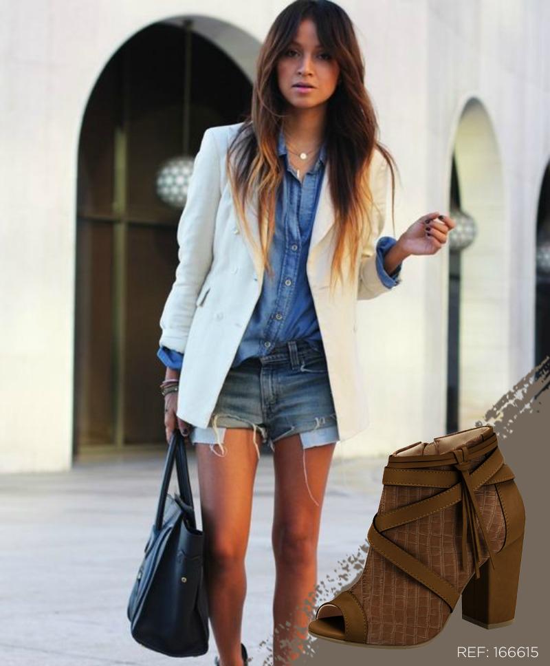 Você pode sim misturar o look casual com o blazer sem sair de moda