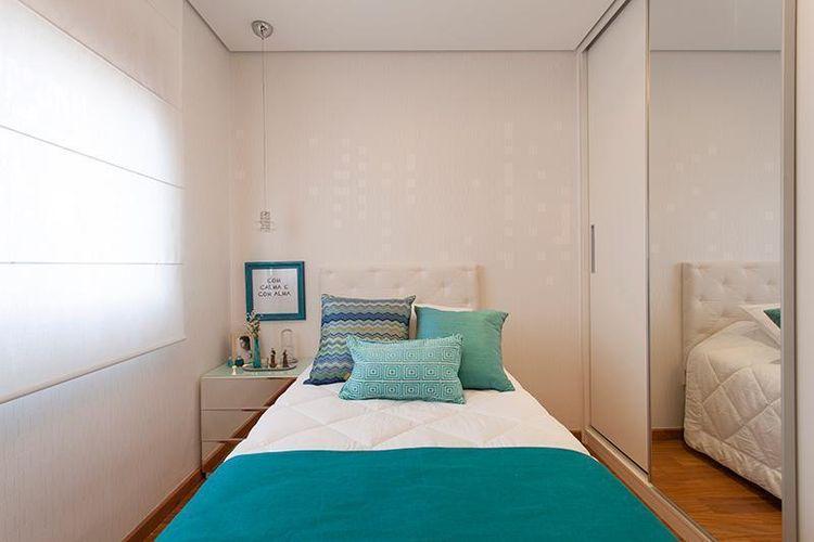 A simplicidade e objetividade da decoração pode deixar o ambiente lindo