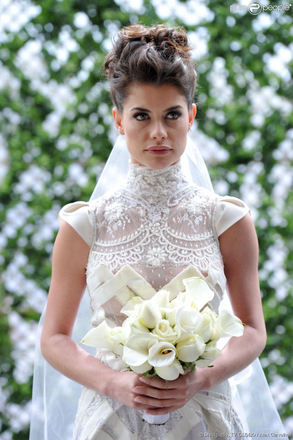 Um dos vestidos de noiva mais marcantes das novelas