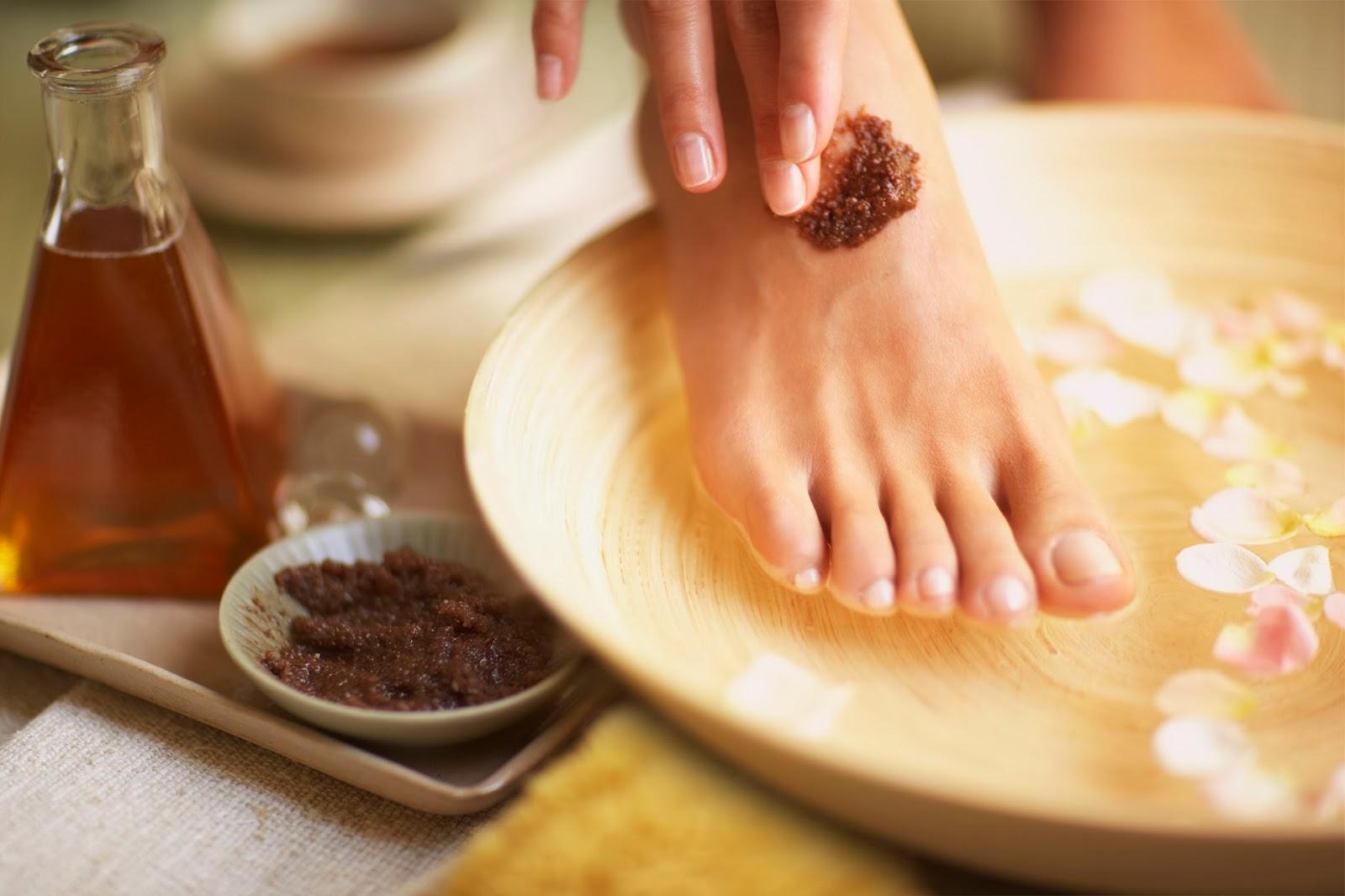 esfoliação-pés