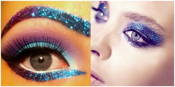 Glitter é a cara do carnaval