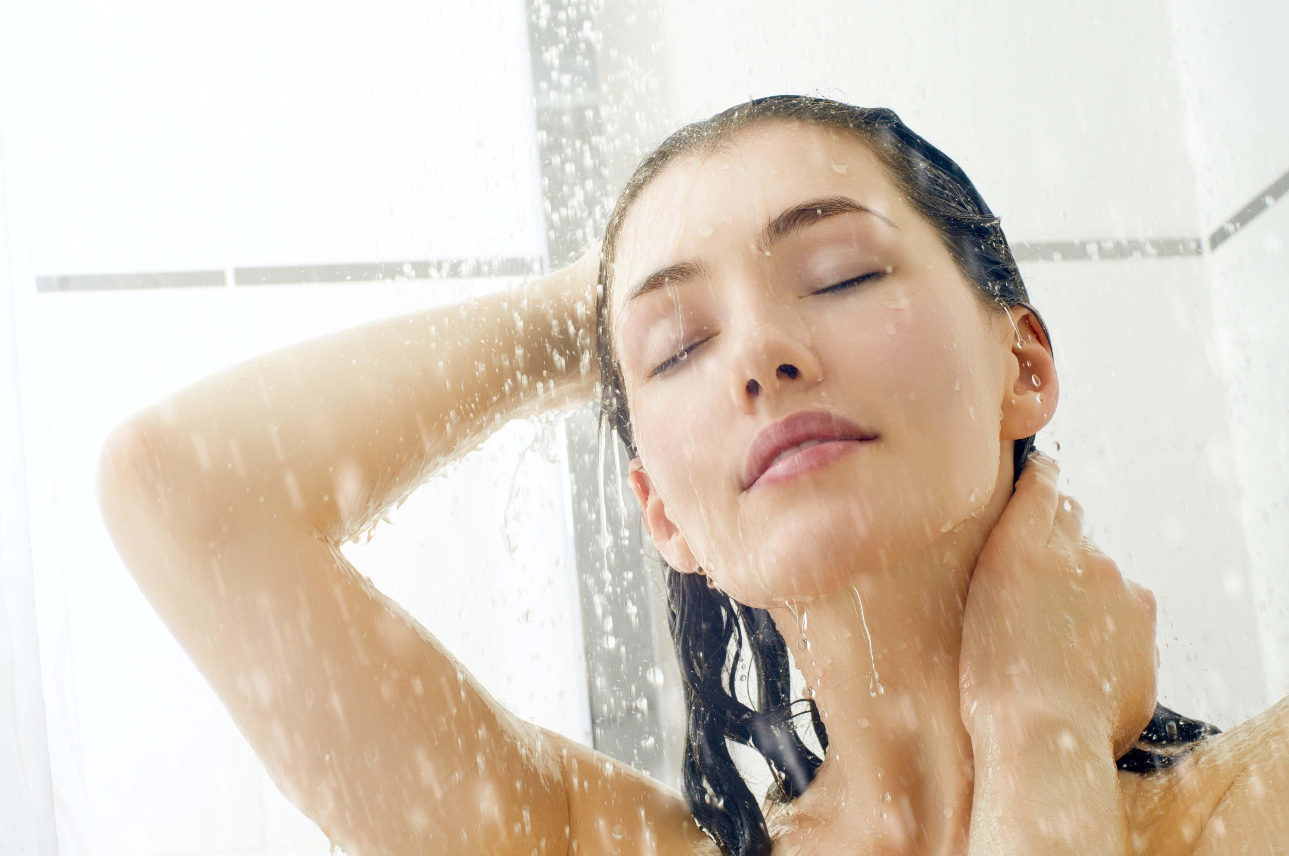 Tome banhos com a água fria ou morna