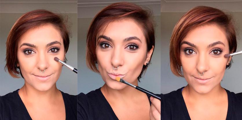 Taís Andrade é expert quando o assunto é maquiagem