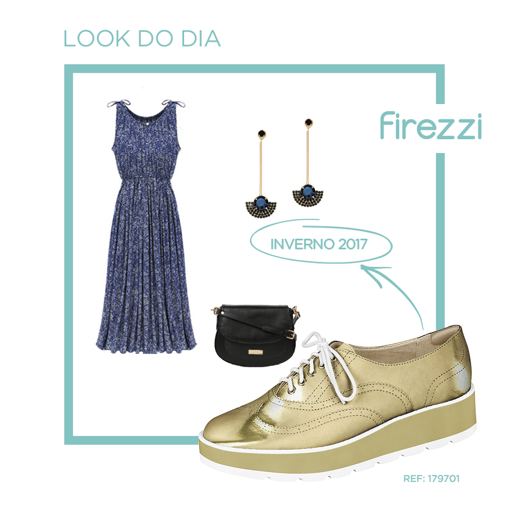 A Firezzi uniu o conforto das flatforms ao o estilo do Oxford