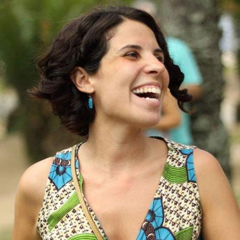 Carla Zarzanelli (cuida da parte administrativa, financeiro, operações e estas coisas por trás do aplicativo)