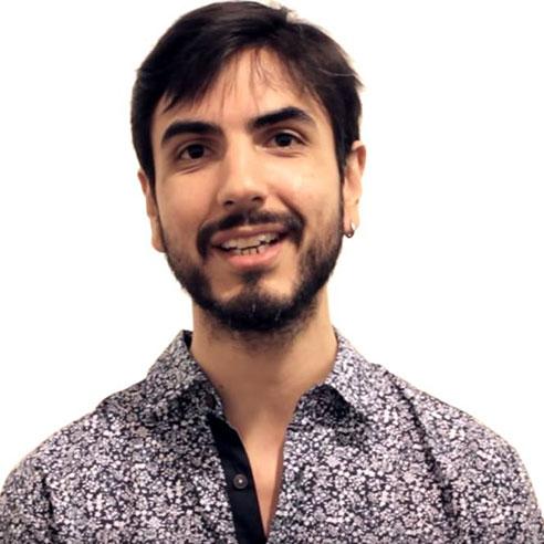 Daniel Weinmann (cuida de toda parte tecnológica/ hacker)