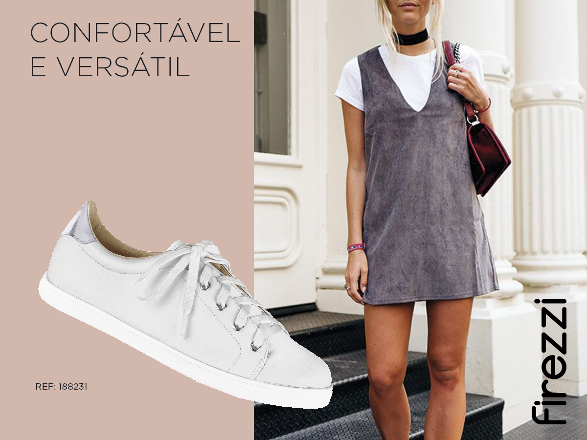 confortavel versatil tenis sport chic