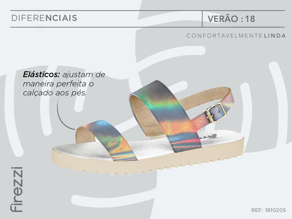 elastico-material-flexivel-holografico-sandalia-flat